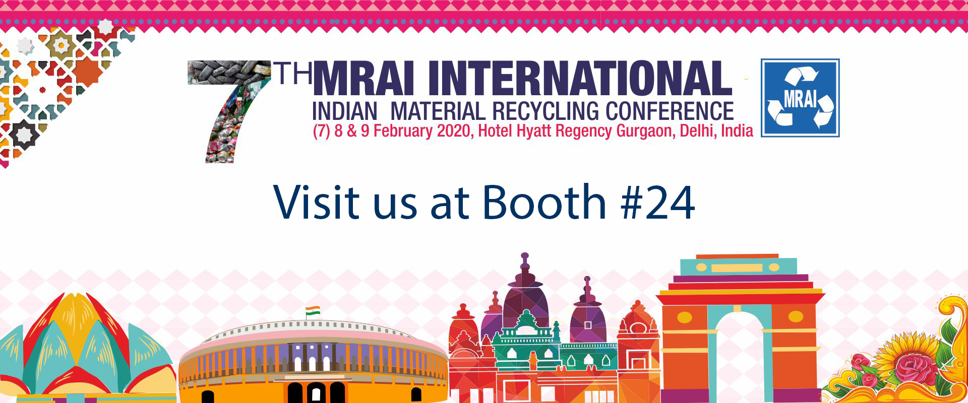 MRAI International Material Recycling Conference (February 7-9, 2020)
